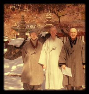 dzen vienuoliai korėjos kalnuose