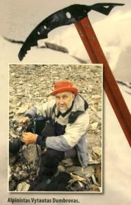 Vytautas Dumbrovas - alpinistas nuo prigimties