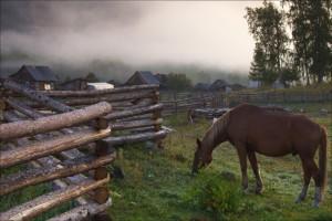 Sentikių kaimas prie Baikalo