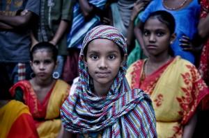 Bangladesas-mergaite is kaimo