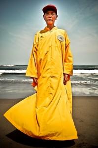 Indonezija-budistu vienuolis