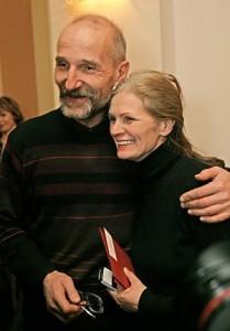 Piotras Mamonovas su žmona