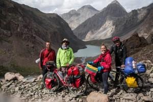 dviraciais per kirgizija