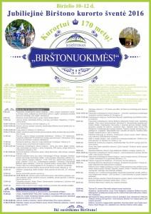 Birstono miesto sventes programa